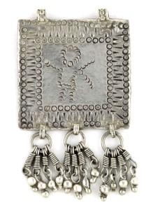 Antique Goddess Devi Folk Amulet,29 Grams, AUD $185.00