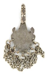 Antique Large Silver Pendant Himachal Pradesh