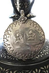 19th Century Duo Lord Shiva Amulet, 12.29 Grams, USD $155.00