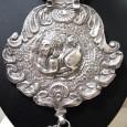 19th Century Swami Ware Style Purushamriga Indian Sphinx Necklace,118 Grams
