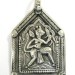 Antique Silver Hanuman Amulet, Pendant, Rajasthan, India, 12.6 Grams