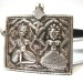 Vintage Ganesh and Pavarti Amulet, Rajasthan, India, 17.6 Grams