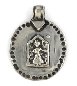 Antique Hoi Mata Amulet Pendant
