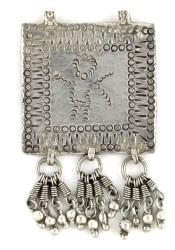 Antique Folk Image Amulet Pendant, Himachal Pradesh