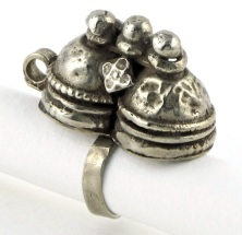 Indian Old Silver Toe or Finger Ring, AUD $95.00