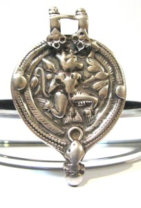 Antique Hanuman Indian Amulet, 12.Grams, AUD $135.00