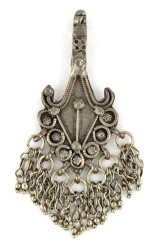 Antique Silver Pendant, Himachal Pradesh