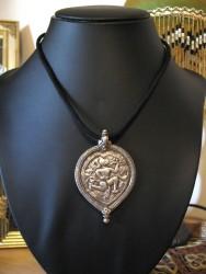 Antique Hanuman Amulet