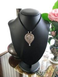 Antique Indian Amulet, Hanuman Pendant