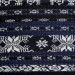 Vintage Ikat, Long, Black, Indigo Stripes, Cotton Textile, Savu Island, Indonesia, 2.9 Meters (9′ 6″)