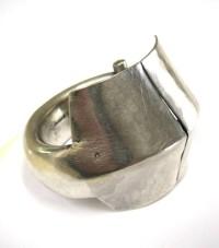 Antique Indian Silver Kadla Bracelet