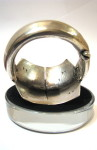 Vintage Rajasthani Kadla Silver Bracelet - 5