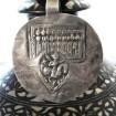Antique Silver Seven Mothers (Sapta Matrikas), Bhumiya Raj Amulet,India, 6 Grams