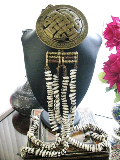 Antique Ladakh Woman's Waist Ornament - Cowrie Shells