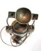 Antique Shiva Lingam Casket with Stone - 3
