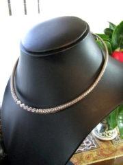 Vintage Rajasthani Silver Torque, Hansuli, Choker Necklace