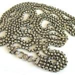 Antique Indian Silver Link Belt, Heavy, Solid, Belly Dance Belt, 39″ (99cm), 284 Grams