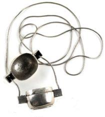 Antique Shiva Lingam Casket, Snake Chain