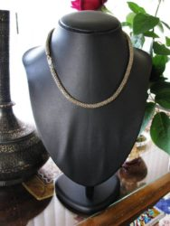 vintage-indonesian-silver-mesh-chain-necklace