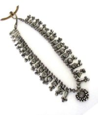 Antique Indian Necklace, Kolhapuri Saj, Maharashtra