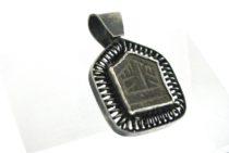 Antique Kufic Script Amulet, Ayaat Amulet, Islamic Amulet,