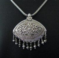 Antique Sri Lanka Pendant, Sinhalese, Kandy