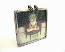 Antique Indian Miniature Pendant, Bala Krishna