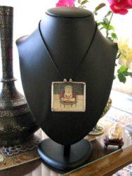 Antique Indian Miniature, Bala Krishna
