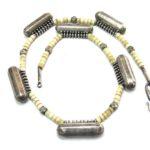 Antique Indian Taviz Necklace, Indian Prayer Box Necklace, Kerala, South India, 64 Grams, 51cm (20″)