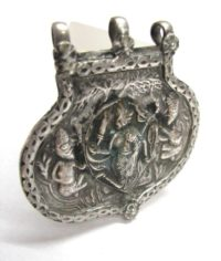 Antique Indian Amulet, Hanuman