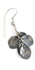 Vintage Indian Silver Dangle Earrings