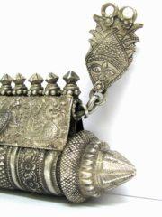 Antique South Indian Amulet, Karnataka, Prayer Box