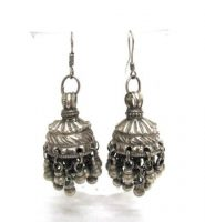 Vintage Indian Jhumka Earrings