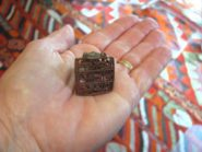 Antique Indian Sectarian Body Stamp