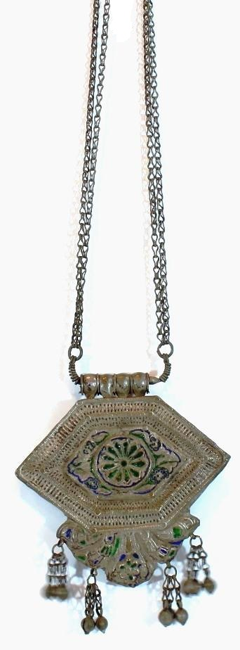 Antique Himachal Pradesh Gau Box Necklace