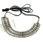 Antique Himachal Pradesh Necklace, Silver Choker Necklace, 71 Grams