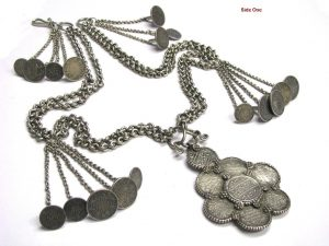British India Rupee Coins Necklace
