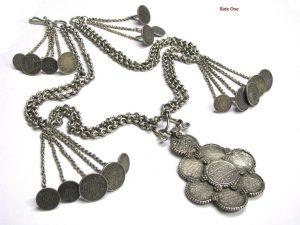 British India Rupee Coins Necklace