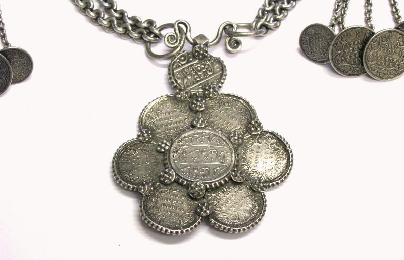 British India Rupee Necklace