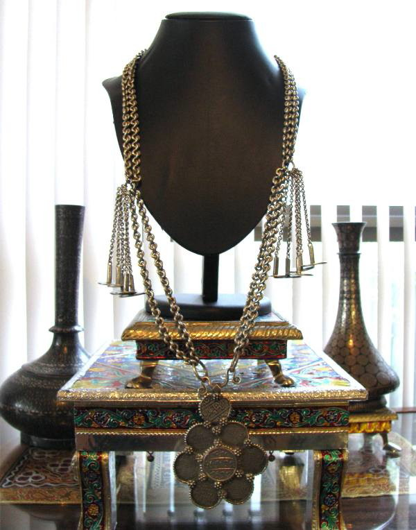 British India Rupee Necklace