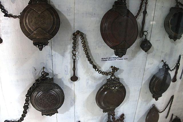 Sri Lanka Museum - Display Betel Nut - Lime Boxes
