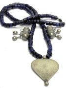 Antique Indian Amulet Necklace, Cache-sexe Ornament