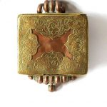 Antique Tibetan Gau Box, Tibetan Ghau, 428.6 Grams, c.1850's